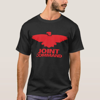 Joint Command (black w/red ink) T-Shirt