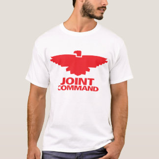 Joint Command (white w/red ink) T-Shirt