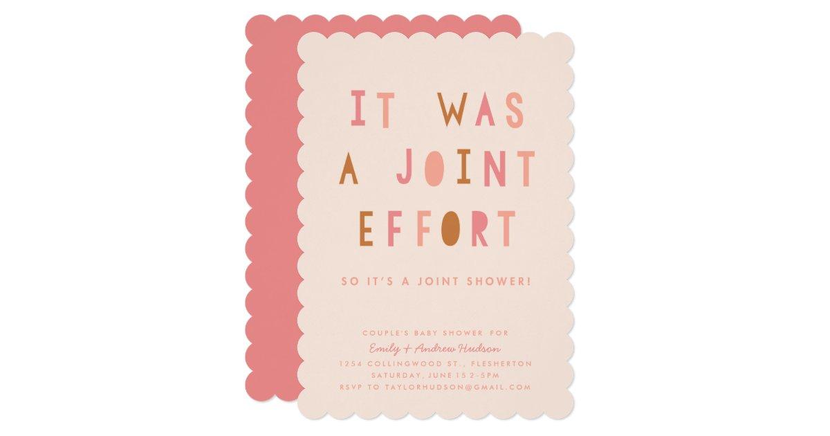 Joint Baby Shower Invitations – gangcraft.net