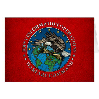 Joint Information Operations Warfare Center Card