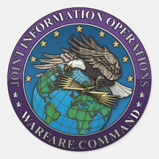 Joint Information Operations Warfare Center Sticker