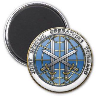 Joint Special Operations Command 2 Inch Round Magnet