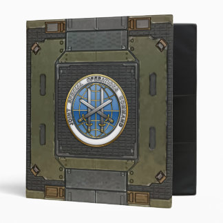 Joint Special Operations Command 3 Ring Binder