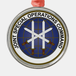 Joint Special Operations Command  JSOC Metal Ornament