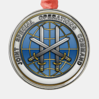 Joint Special Operations Command Metal Ornament
