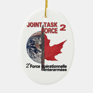 Joint Task Force 2 Ceramic Ornament