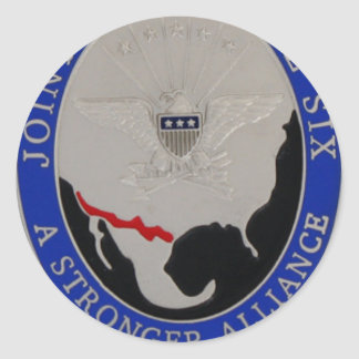 JOINT TASK FORCE 6 CLASSIC ROUND STICKER