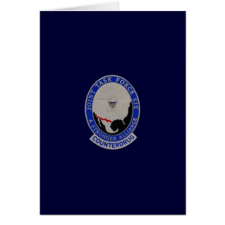 JOINT TASK FORCE 6 GREETING CARD