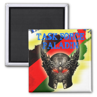 Joint Task Force Paladin CIED 2 Inch Square Magnet