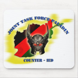 Joint Task Force Paladin CIED Mouse Pad