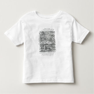 Jointing a whale toddler t-shirt