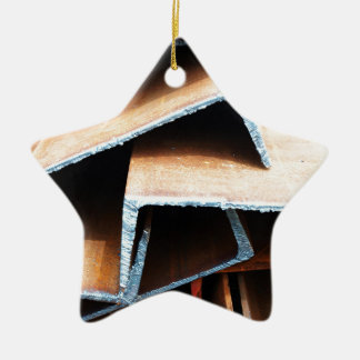 joists closeup ceramic ornament