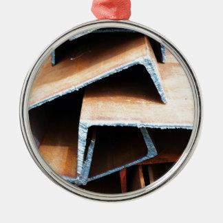 joists closeup metal ornament