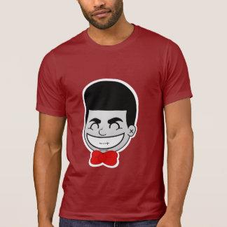 JOKAH SMILE™ Brand Cranberry Red Crew Neck Tee