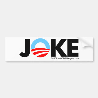 JOKE BUMPER STICKER