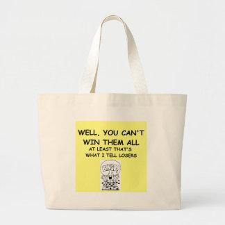 joke for winners! jumbo tote bag