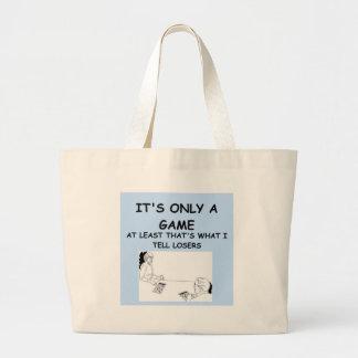 joke for winners! canvas bag