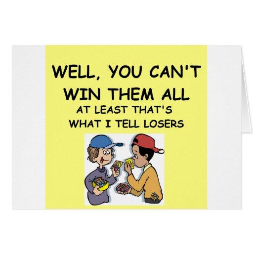 joke for winners! card