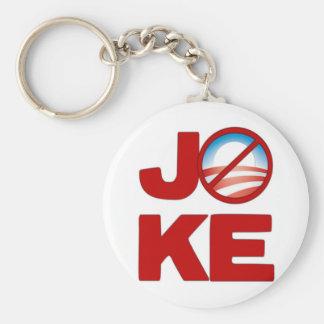 Joke Obama Keychain