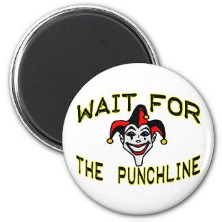 Joker 2 Inch Round Magnet
