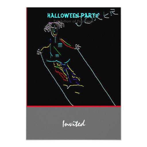 Joker 5x7 Paper Invitation Card