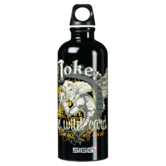 Joker Aluminum Water Bottle