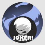 JOKER ARROYO ,PIPOL'S DRAGON CLASSIC ROUND STICKER