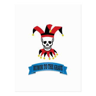 joker art jester postcard