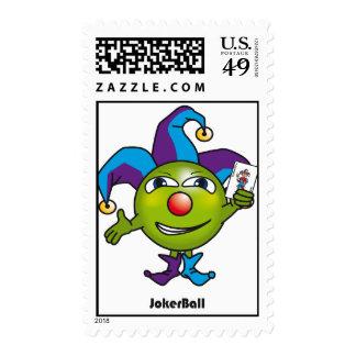 Joker Ball stamp