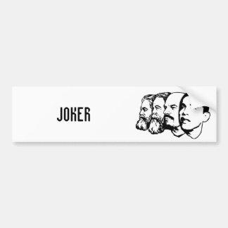 JOKER bumper sticker Car Bumper Sticker