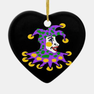 Joker Ceramic Ornament
