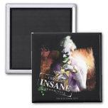 Joker - Certified Insane 2 Inch Square Magnet