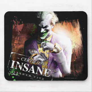 Joker - Certified Insane Mouse Pad