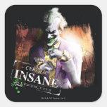 Joker - Certified Insane Square Sticker