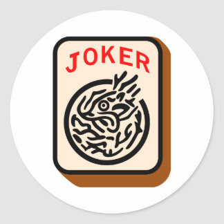 Joker Classic Round Sticker