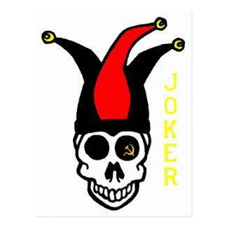 joker commie postcard