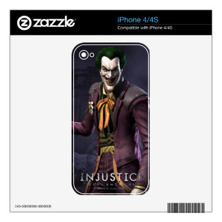 Joker Decals For The iPhone 4