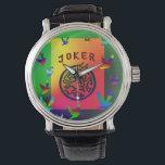 """Joker Dreams Watch<br><div class=""""desc"""">Keep a joker on your wrist.</div>"""