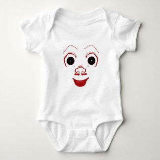 Joker face baby bodysuit