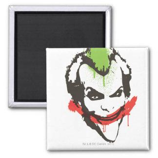 Joker Graffiti 2 Inch Square Magnet