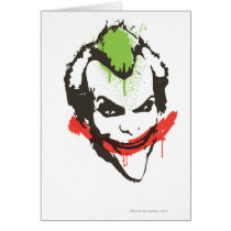 Joker Graffiti Card