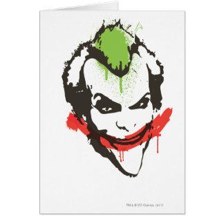 Joker Graffiti Card