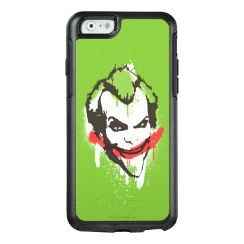 Joker Graffiti Otterbox Iphone 6/6s Case by batman at Zazzle