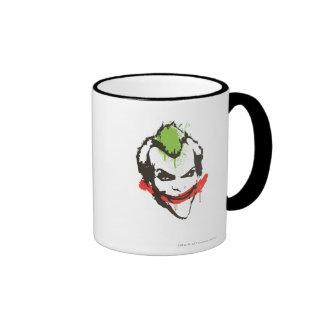Joker Graffiti Ringer Mug