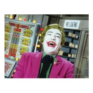 Joker - Laughing 4 Postcard