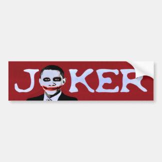 Joker Obama Bumper Stickers