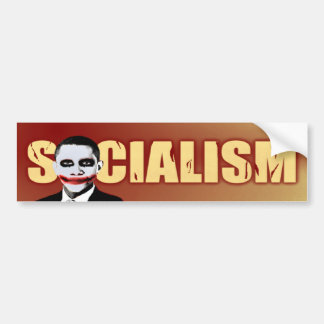 Joker Obama Car Bumper Sticker