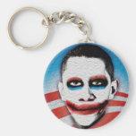 Joker Obama Keychain