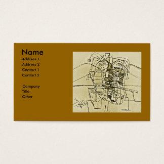 JOKER OF FAUCET NOSE BUSINESS CARD