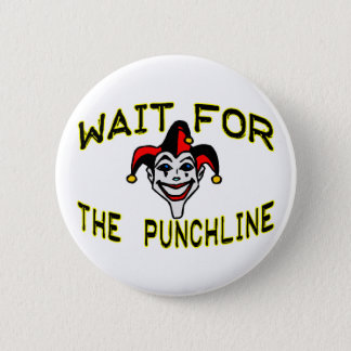 Joker Pinback Button